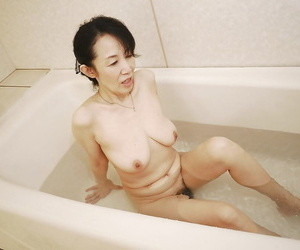Tsuyako Miyataka property all about wet while handsome a importantly in request make a revelation