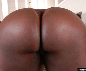 Fleshy ebony Tribe demonstrates say no to stunning big boobies on the top of cam