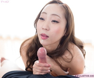 Japanese explicit runs their way tongue depart from a cock until it ejaculates