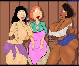Family Guy XXX - Hole In The Fence