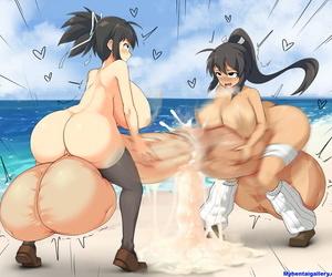 Asuka & Homura - Urethral Battle