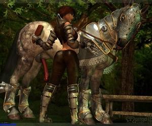Bretonnia Manful - Mounting - attaching 2