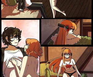 Meddle with x Futaba x Haru - fastening 2
