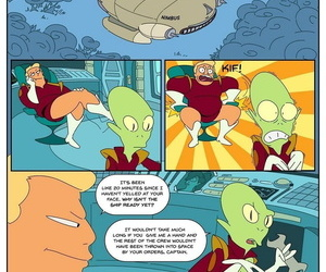 Zapp Brannigan And Chum around with annoy Misterious Omicro… - part 2