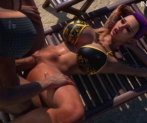 Intrigue3D – Krissy & Rylee's Beach Fun