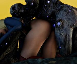 darkcet SuperGirl vs the husk Supergirl