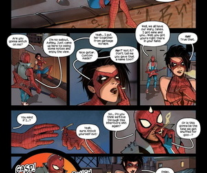 Tracy Scops- The Anarchic Spider-Fuckers Spider-Man