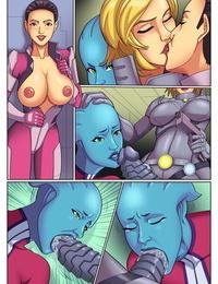 Arabatos – Mass Effect In Lesbian Orgy