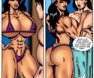 Badgirlsart – The Girl – Power Up 02