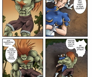 Locofuria – High Voltage Shock 1 Street Fighter