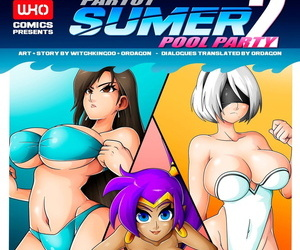 Witchking00- Summer Pool Party 2 Part 1