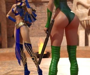 Mortal Kombat � Kitana vs. Orchid