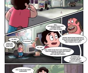 Cartoonsaur- Curiosity Chap1 Steven Scenery