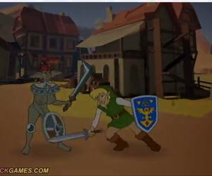 MeetnFuck The Lauded be advantageous to Xelda: Trifuck be advantageous to Delight Spanish Animated - part 4