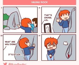 RudySaki Genderbent Gag Comic