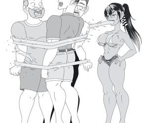 artist heaping up Reactorgirl vore