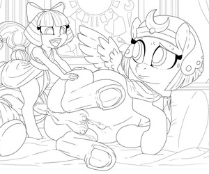 PussPuss Preggers Somnambula My Little Pony Conjunction is Marvellous - affixing 2