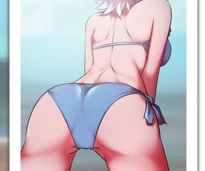 HornyGraphite Mirajane x Lisanna Fairy Tail