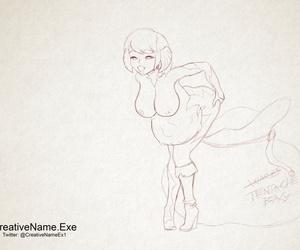 CreativeName.Exe Queen Masami - Animated Sketch - part 2