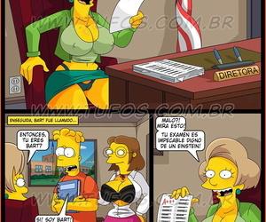 Prueba De Inteligencia spanish Los Simpsons Ver-Comics-Porno.com