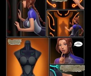Lara Croft Funny man