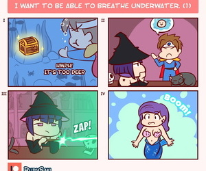 Rudysaki I want to be able to breathe underwater