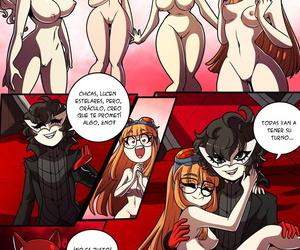 Jokers Estimate of Endurance - Kinkymation - Persona 5 - Spanish - fidelity 4