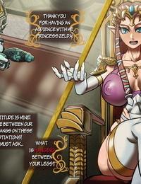 Marnic Zeldas Negotiation TLOZ: Twilight Princess