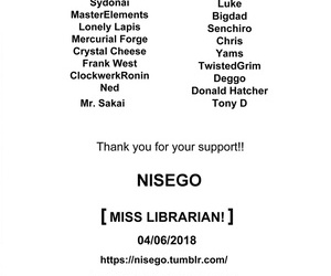 Nisego Miss Librarian!