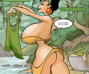 Omac Snake in Eden Make an issue of Emperors New Groove- Make an issue of Jungle Book