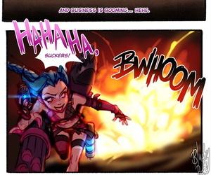 Jinx Comic BlushyPixy