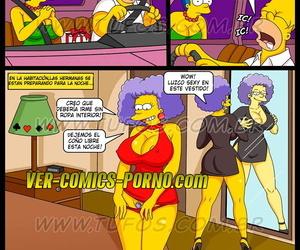 ла Фиеста Де cumpleaños español Лос Симпсоны xxx... в ХХХ comics.pro