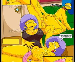 La Fiesta de Cumpleaños español Los Simpsons XXX Ver-Comics-Porno.com