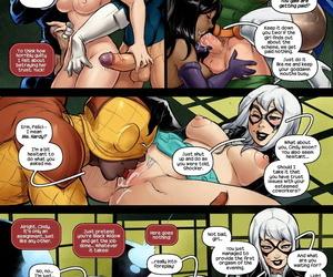 Tracy Scops SILK Stark naked Spider-Man
