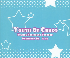 Reitaisai 9 Aane Hoshikuzu Koboshi YOUTH Be incumbent on CHAOS Touhou Project