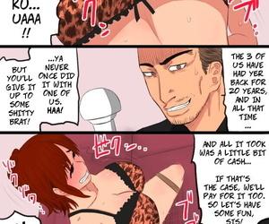 Kintama Ookami Zoku Kenka Saikyou Datta Ore no Kaachan ga Matsunaga no Chinpo ni Kanzen Haiboku Shita Hanashi Ryoujoku Hen - My Bad-ass Mom Was Pwned By Matsunagas Big Dick 2 English - part 2