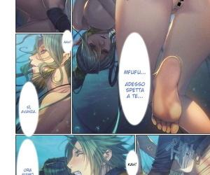 Homare Ma-Gui -DEATH GIRL- Cadola Hen COMIC Anthurium 2017-06 Italian Hentai Fantasy Digital
