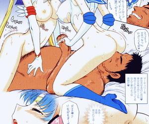 C78 Black Dog Kuroinu Juu DARK BLUE MOON Bishoujo Senshi Sailor Moon Colorized
