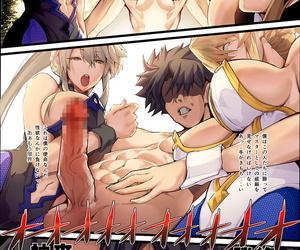 Armadillo Renji Kinpatsu Bunny to H na Joke Shimasu 2&1 Fate/Grand Decree Digital