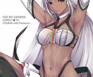 COMIC1☆10 Chural-an Naturalton FGO No Ashibon - FGO Foot-Book Fate/Grand Order English EHCOVE
