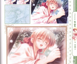 Moshimo Ashita ga Harenaraba official fanbook - part 3