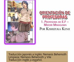 Kishizuka Kenji Onna Kyoushi ni Tsugu 1 Taiiku Kyoushi Minagawa Midori - Orientación de profesoras 1. Profesora de E.F – Midori Minagawa Onna Kyoushi ni Tsugu Spanish =Vile=