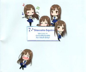 C84 Staccato・Squirrel Imachi Coolish Groove! THE IDOLM@STER CINDERELLA GIRLS Korean