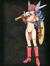SC56 STUDIO PAL Nanno Koto Inran Kyonyuu Senshi - Lechery Big Hooters Soldier ~Ochinchin Sukiiiii!!!~ Dragon Quest III English q91