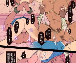 Oda non Rakugaki Ero Manga- Breath of Be transferred to Wild spoonful Urbosa-sama! Be transferred to Praised of Zelda Breath of Be transferred to Wild Decensored