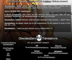C92 Kossorikakuredokoro Atoll Re:M@STER IDOL F.C Dramatize expunge iDOLM@STER English obsoletezero