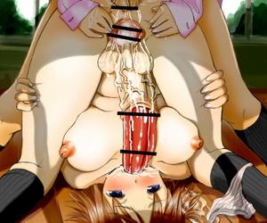 Mui-Garou mui Futanari-san Illustration-shuu + omake manga Digital - attaching 4