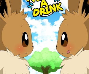 Winick-Lim Visit a Drink Pokemon