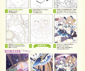 Tatekawa Mako Hoshizorairo Ehon Tatekawa Mako Gashuu - The picture book- Color of Starry sky Digital - part 7