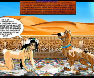 Rub-down the Breeding Of Princess Jasmine